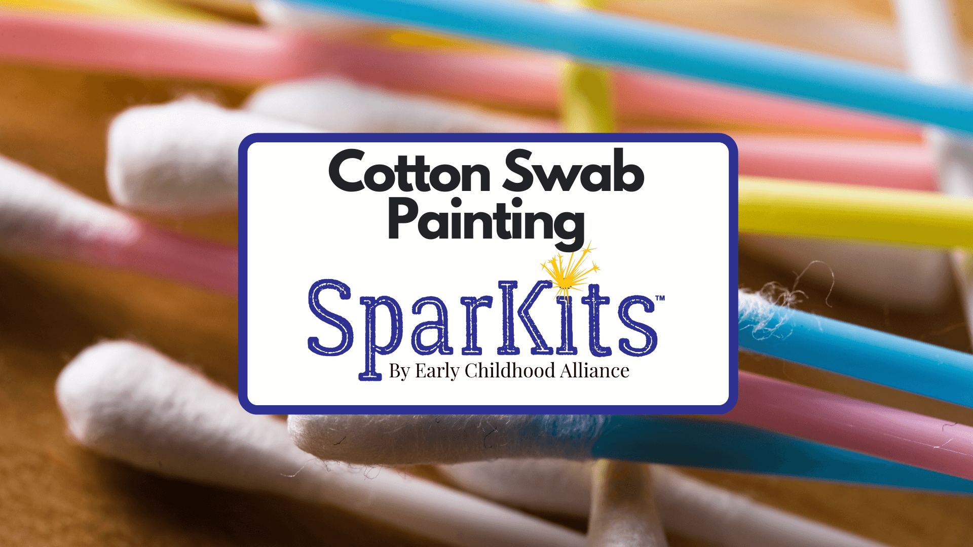 Product Thumbnail - Cotton Swab Painting